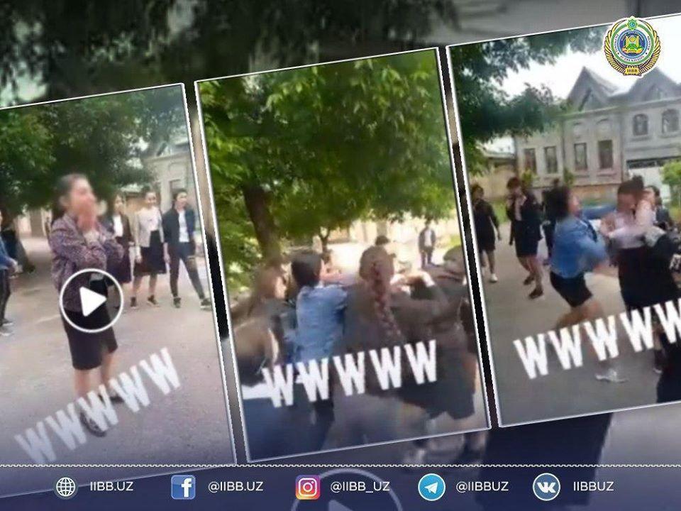В Ташкенте оштрафовали родителей одиннадцати школьниц, избивших девятиклассницу