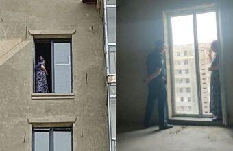 51-летняя жительница Бухары из-за внутренних переживаний пыталась спрыгнуть с 8-го этажа недостроенного дома