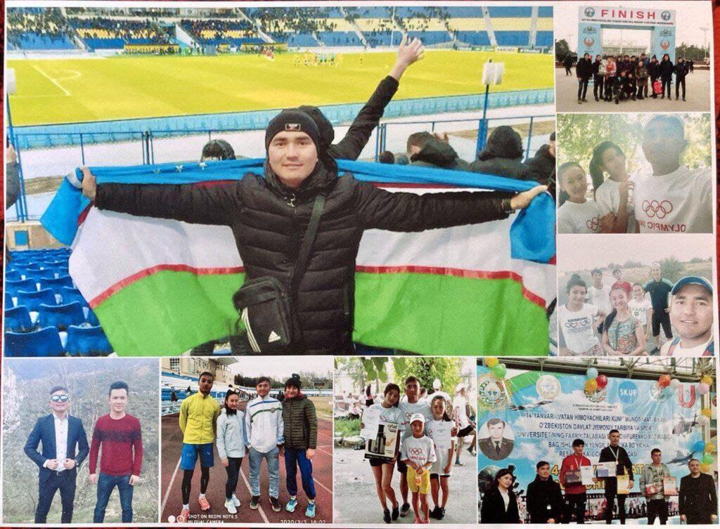 Погибший Абдукаюм был тренером лёгкой атлетике. Ему было 24 года